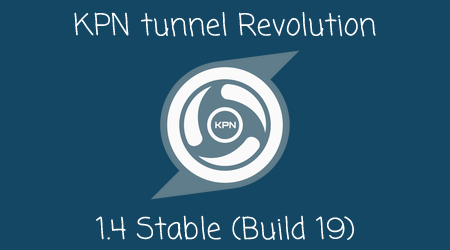 Cara Aplikasi KPN tunnel Revolution Versi 1.4 Stable (Build 19) Terbaru