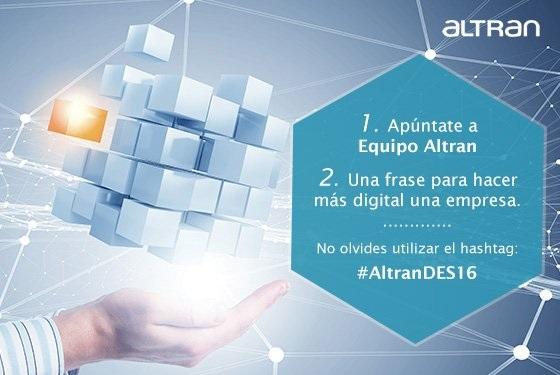 Gana una entrada para el #DES2016 con #AltranDES16