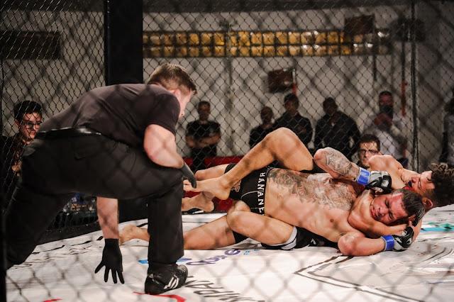 Mixed Martial Arts aqueceram noite de Quarteira