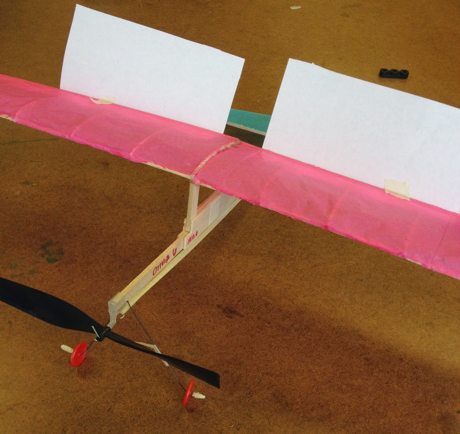 Intro To Tech Amp Design Rubber Band Powered Airplane