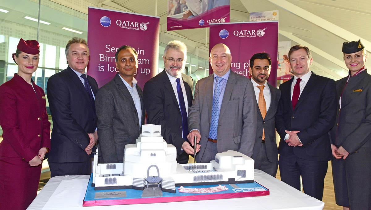 Qatar Cake Art : Birmingham Airport Photo Blog: Qatar Airways operate their ...