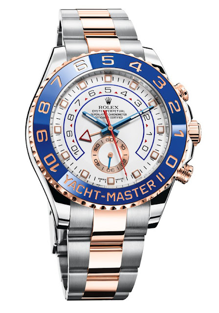 Photo of Rolex Yacht-Master II Model in Everose Rolesor (photo: Rolex)