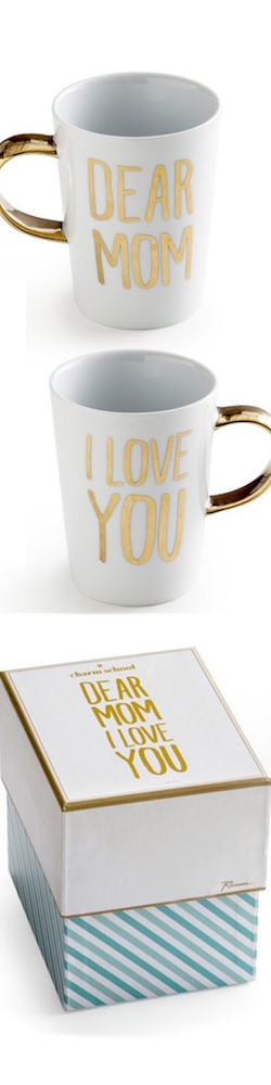 Rosanna 'Dear Mom I Love You' Porcelain Mug