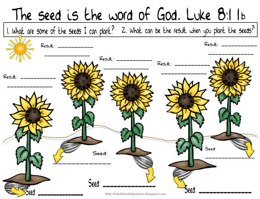 Bible Fun For Kids: Parable of the Sower