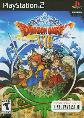 Dragon Quest VIII Journey of the Cursed King PS2 GAME ISO