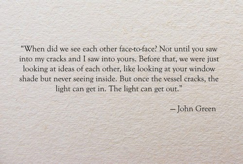 Cee Brensan: Quotes From John Green's Paper Towns