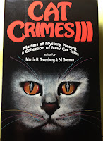 Mystery book with cats