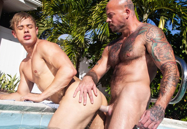 NakedSword – Sean Duran Fucks Alam Wernik – Five Brothers: Family Values – Episode 1, Bubble Butt Winner!