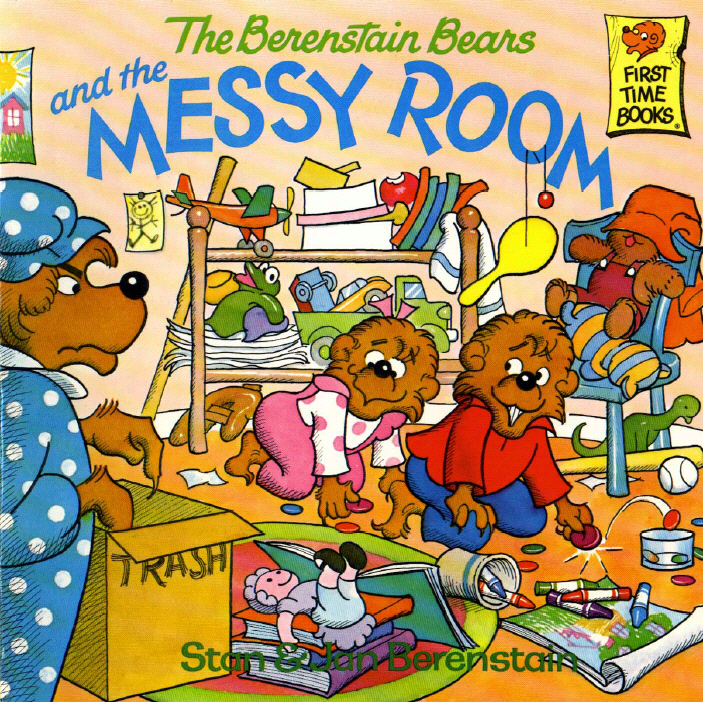Messy Room: The Path To Frugality: Living In A Messy House