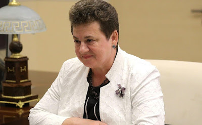 Governor of Vladimir Region Svetlana Orlova.