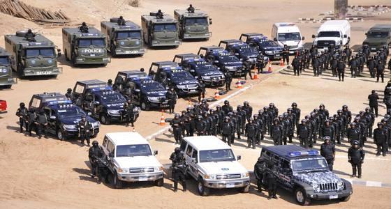 قوات التدخل السريع للشرطة المصرية