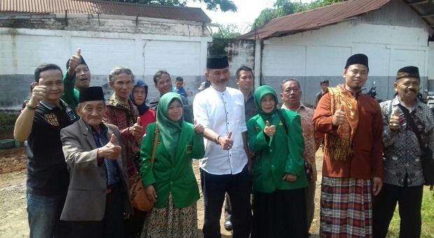 Maman Silaturahmi ke PAC PPP Kecamatan Cipendeuy