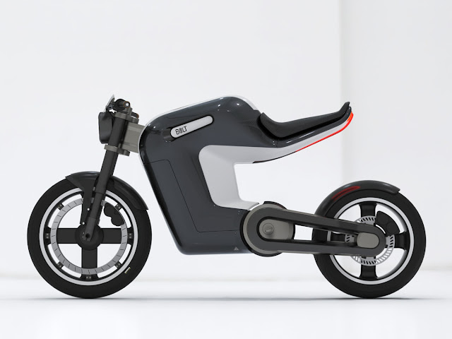 Neat and clean Electric bike concept- BOLT , Bolt Electric bike