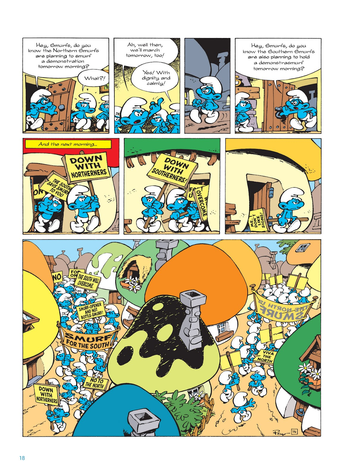 Read online The Smurfs comic -  Issue #12 - 18