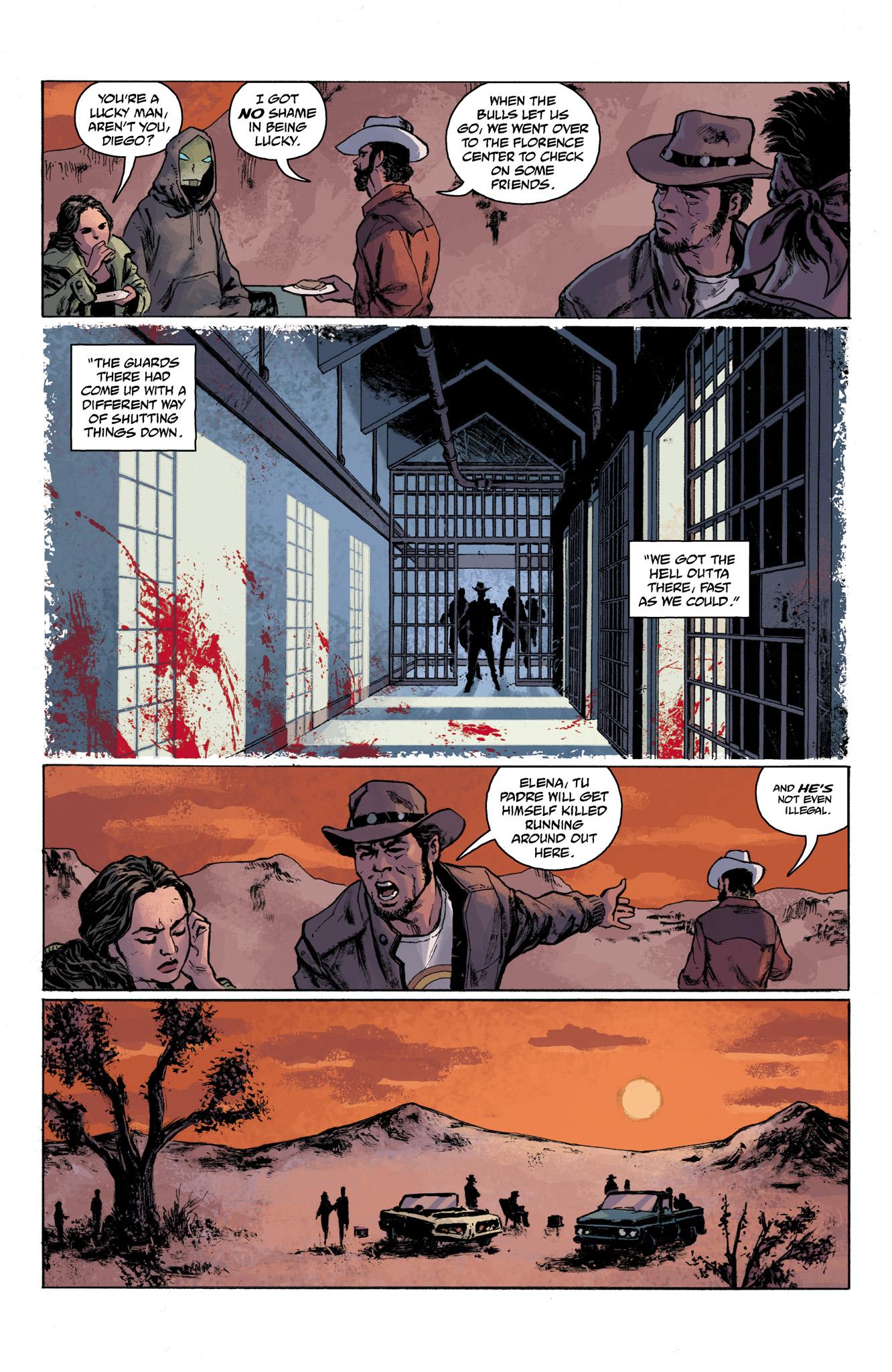 Read online Abe Sapien comic -  Issue #6 - 7