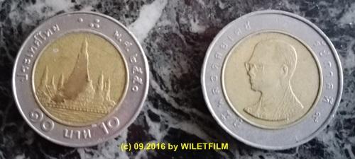 Der Wiletfilm Thailand Explorer Währung Thailand
