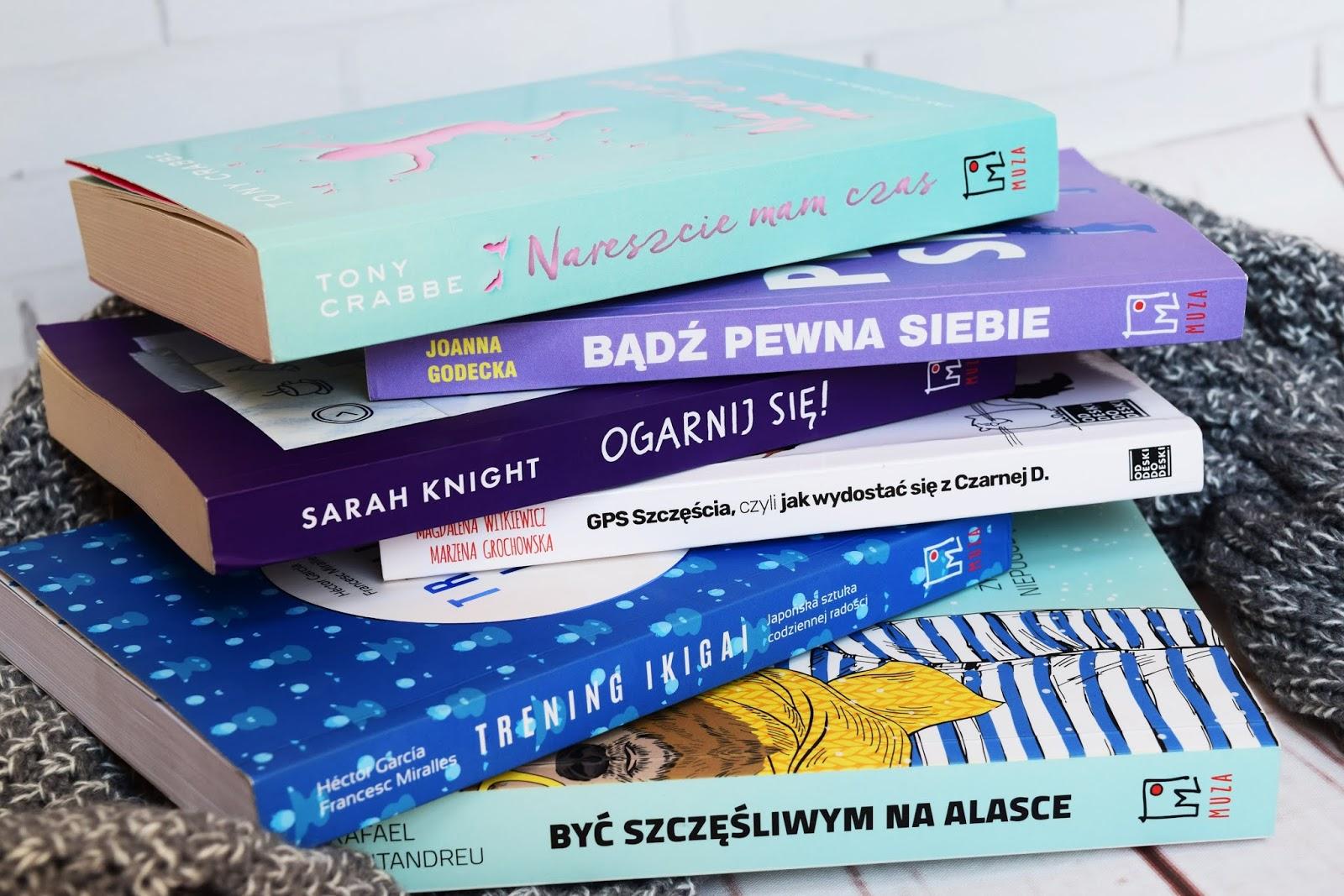 6 książek dzięki którym ruszysz tyłek z łóżka! #rozwójosobisty