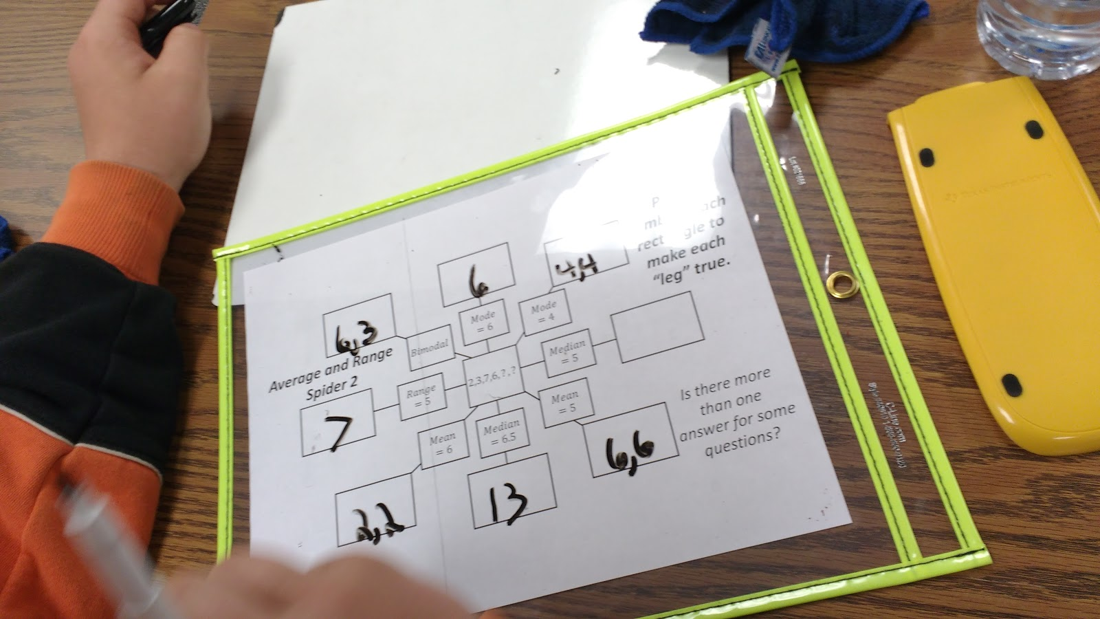 Math Love Mean Median Mode And Range Spider Puzzles