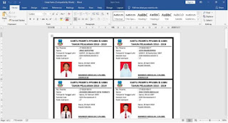 Aplikasi Kartu Peserta USBN dan UN Peserta Didik | Wiwa Pedia