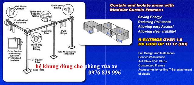 Cơ bản cho một hệ thống màng nhựa pvc ngăn nước, ngăn bụi, ngăn sơn