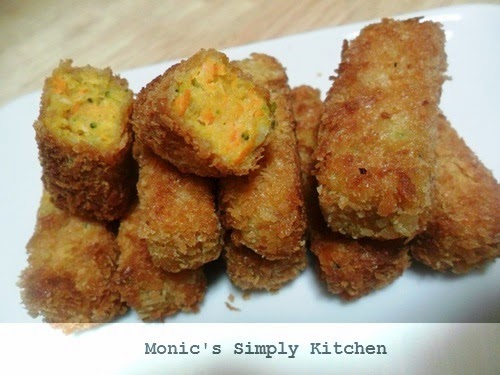 nugget ayam sayuran keju