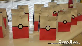 Lembrancinhas aniversário Pokemon