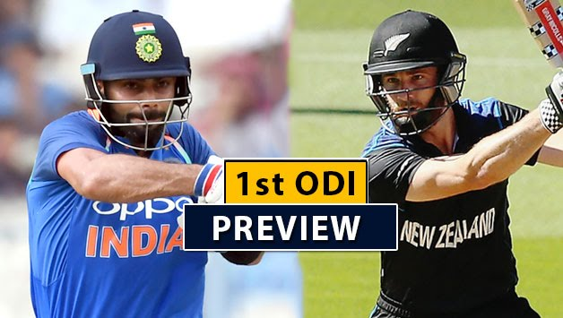 India vs New Zealand Live Update, 1st ODI: Preview,