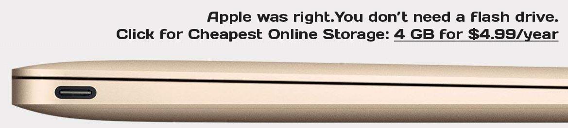 cheapest online storage