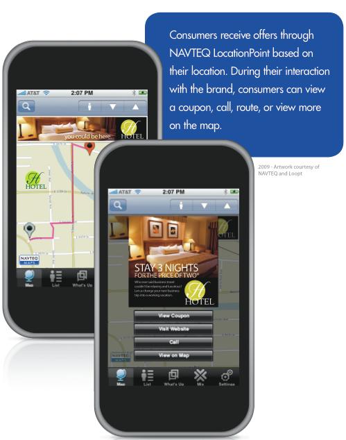voiture communicante la publicit en change de services de navigation sur mobile r sultats d. Black Bedroom Furniture Sets. Home Design Ideas