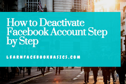 How to Deactivate Facebook Account Step by Step #DeactivateFacebook