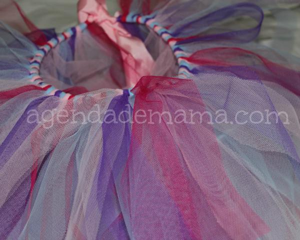 bb04ab92a Tutorial  Falda de tul sin coser para carnaval