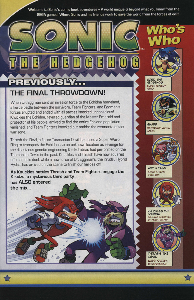 Read online Sonic The Hedgehog comic -  Issue #246 - 3