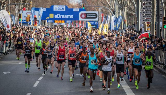eDreams Mitja Marató Barcelona 2016
