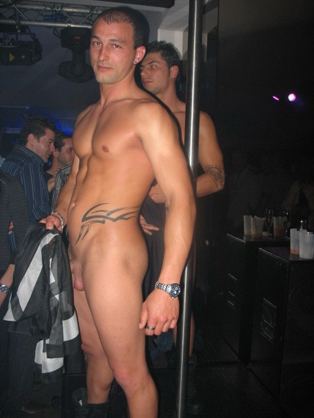 naked go go dancers