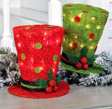 RAZ Lighted Top Hat at Trendy Tree