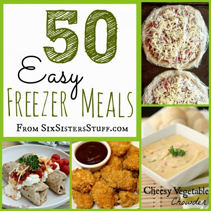 50 Easy And Delicious Freezer Meals