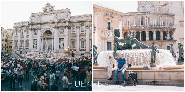 fuentes-Roma-Valencia