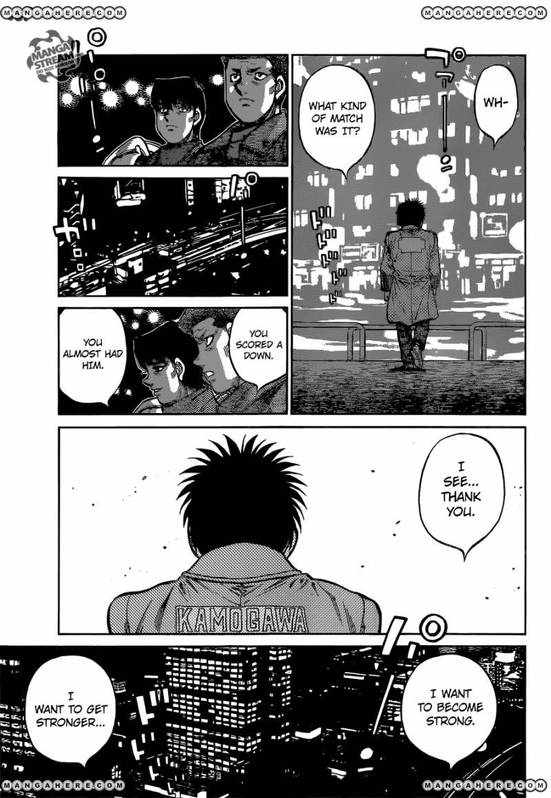 Hajime no Ippo - Chapter 1072