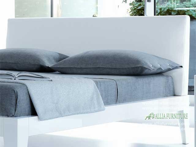 headboard tempat tidur minimalis modern blues