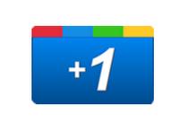 Google + 1 logo