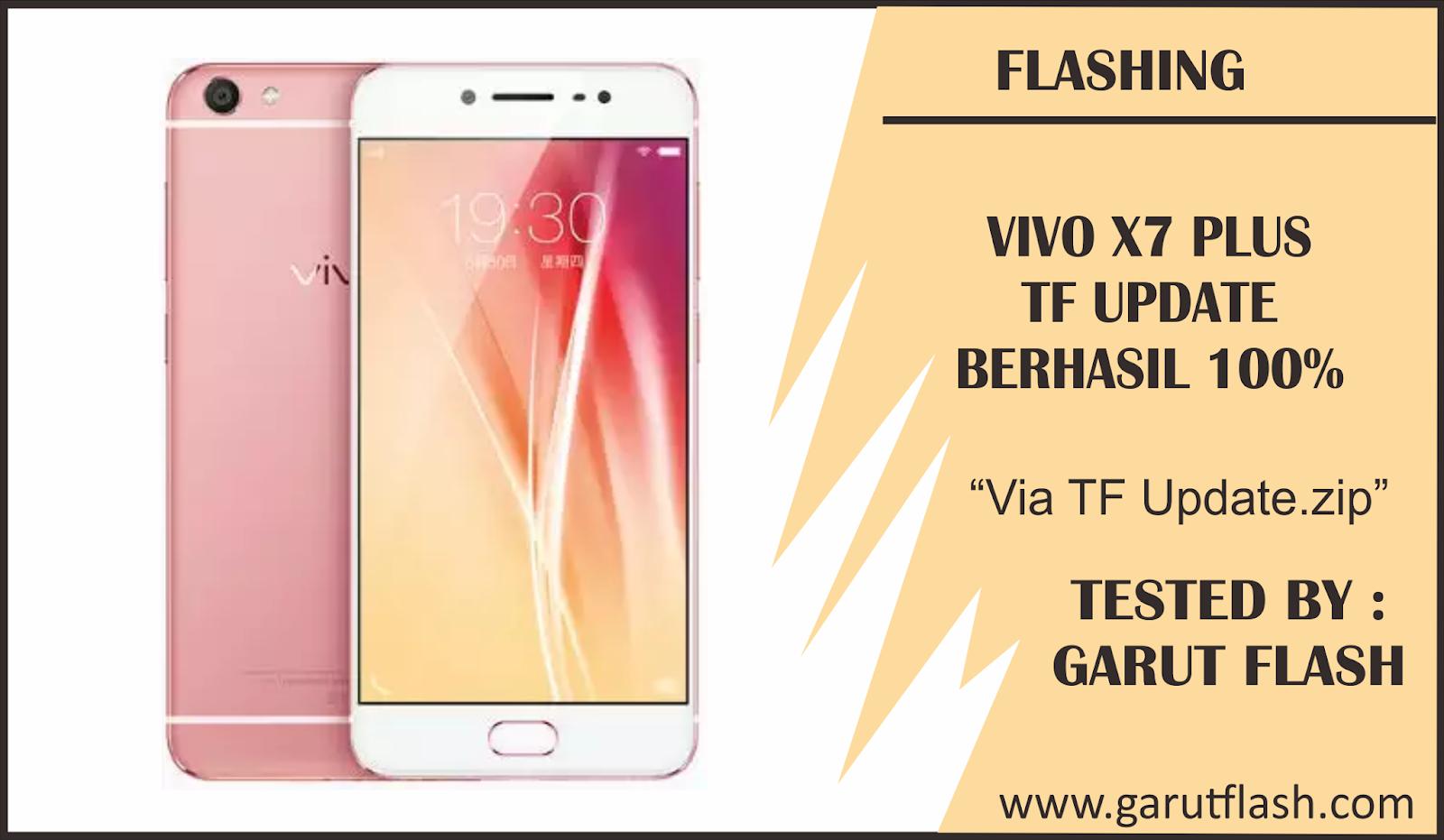 Cara Flashing Vivo X7 Plus Via SD Card Update Berhasil