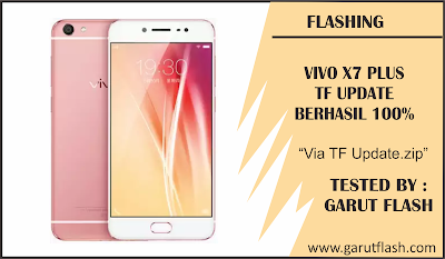 Cara Flashing Vivo X7 Plus Via SD Card Update Berhasil