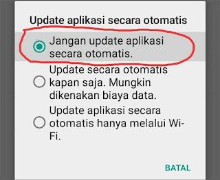 Cara Menghentikan Update Otomatis Aplikasi Android 4