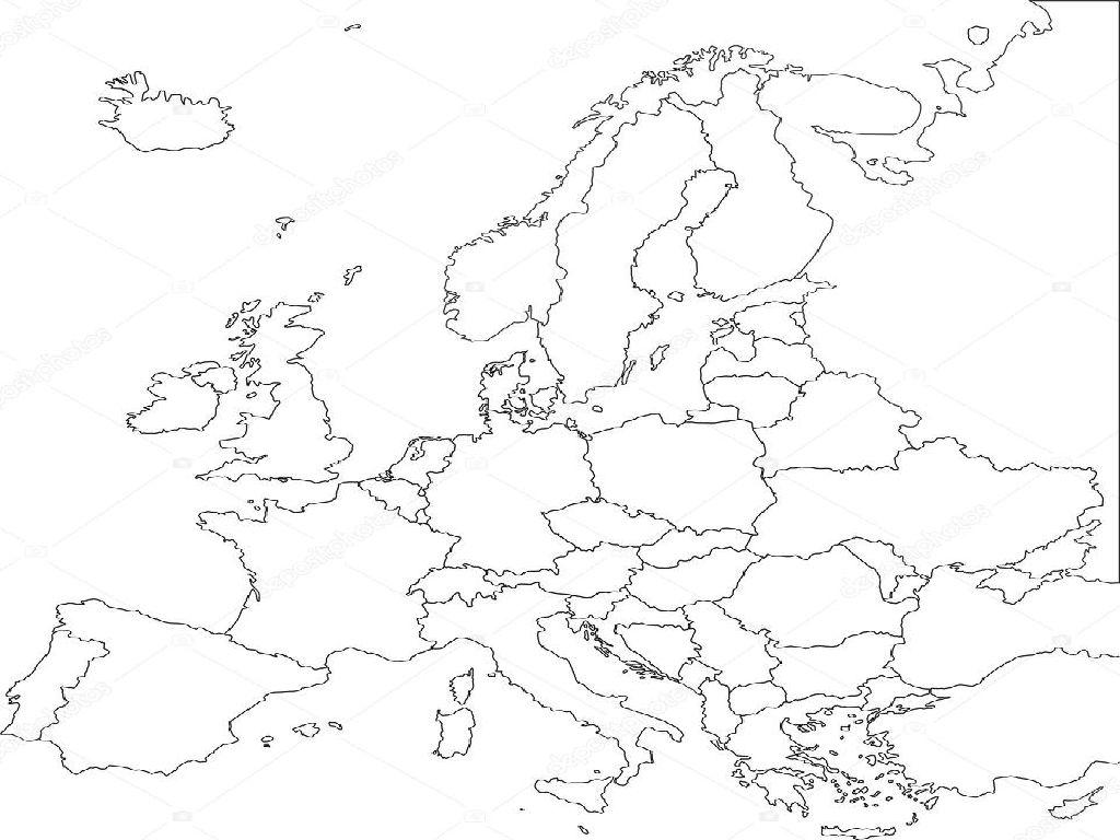 Map Us Europe