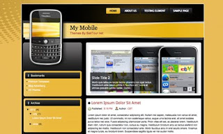 My Mobile Blogger Template