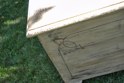 Blanket Box Painted With Chalk Finish Paint