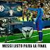 Leo Messi listo para la final de Champions