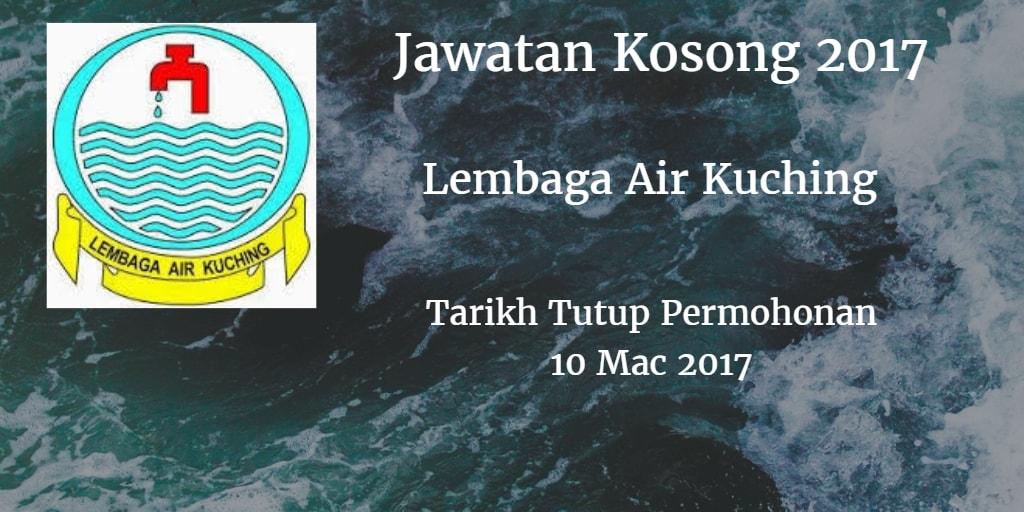 Jawatan Kosong Lembaga Air Kuching 10 Mac 2017