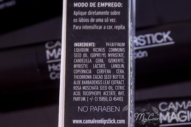 Labiales mágicos made in Spain de Camaleon