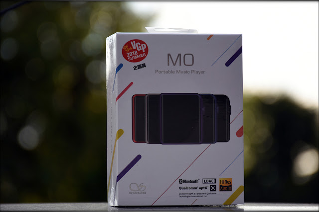 Shanling M0 Review - Package